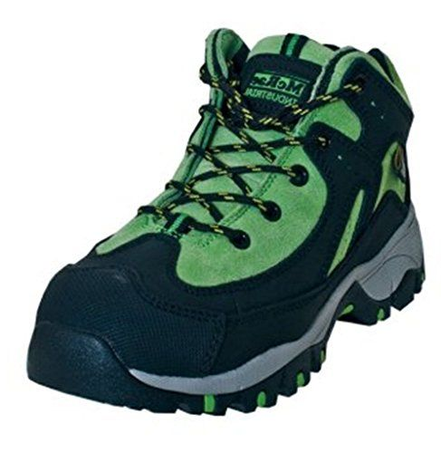 Womens McRae Metatarsal Guard Steel Toe Hiking Boots BLKGRN 9W >>> Read more  at the image link.