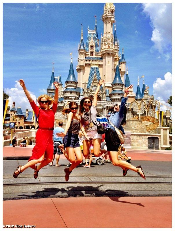 """Nina Dobrev's photo: Disney world - """"Best Day Ever """" photo."""