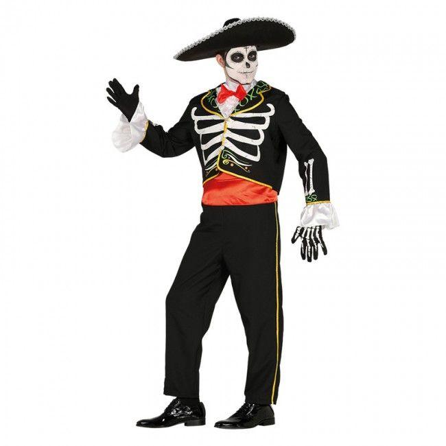 Déguisement Squelette Mariachi adulte #costumespouradultes #nouveauté2017