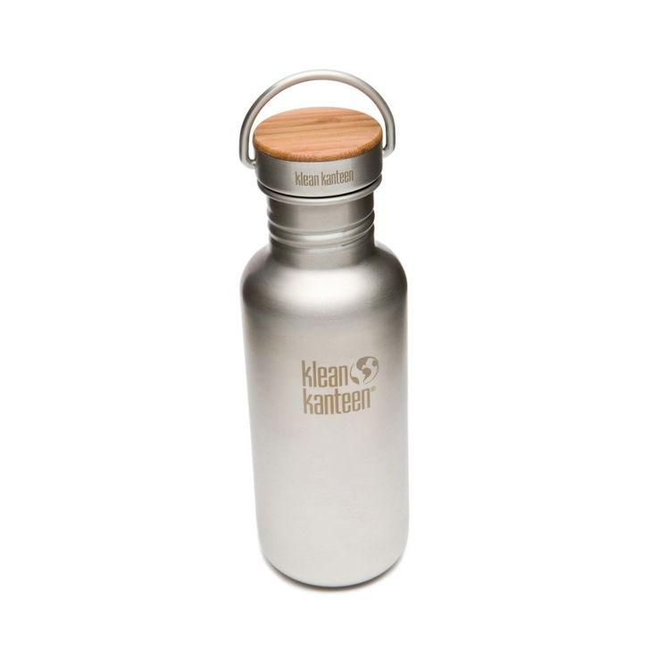 Klean Kanteen Reflect 532ml gebürsteter edelstahl 2014 Trinkflasche grau