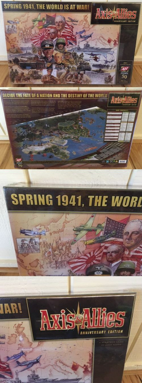 Axis and Allies 158731: Axis And Allies 50Th Anniversary Edition Avalon Hill (2008, Oop, New And Sealed) -> BUY IT NOW ONLY: $499.99 on eBay!