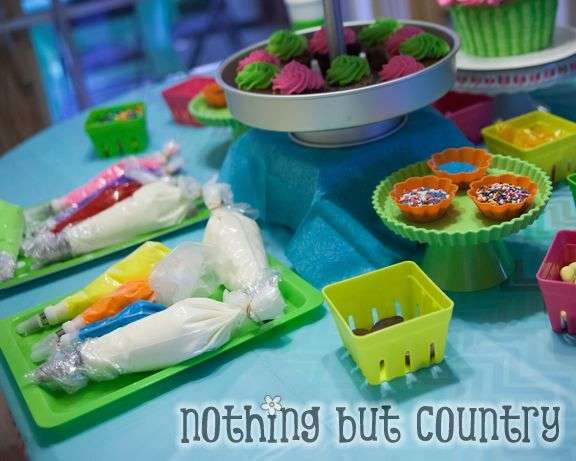 Cupcake Wars Birthday Party Ideas | Photo 10 of 31 | Catch My Party