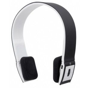 Manhattan FreeStyle Wireless Bluetooth 30 mm Stereo Headset - Over-the-head - Supra-aural - Black