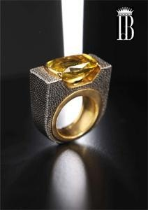 Exclusive Rings designed by Famous Jewerl Countess Isabella del Bono.
