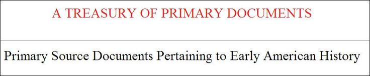 Primary sources list! http://www.constitution.org/primarysources/primarysources.html#16
