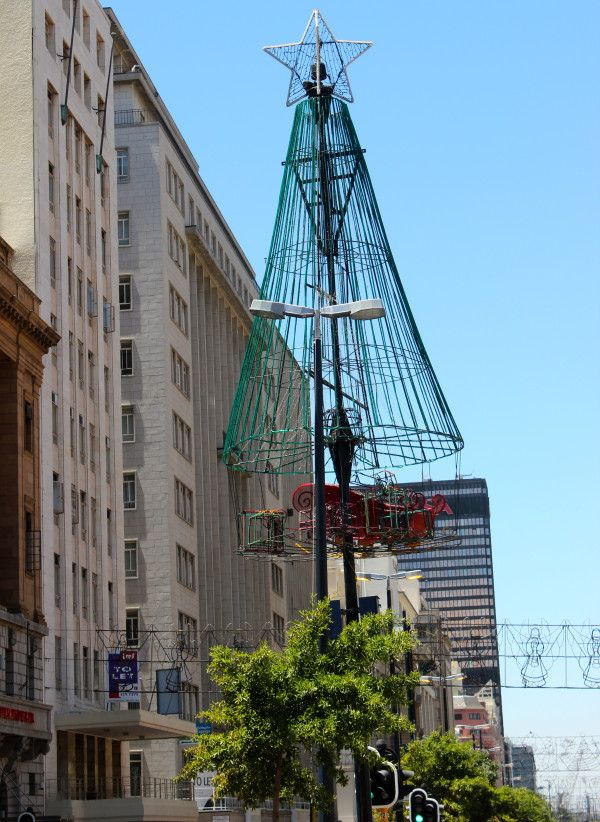 #Christmas in #CapeTown. Eat your heart out, Regent Street. #SouthAfrica