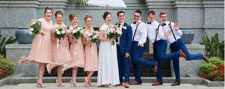 A temple wedding in Australia - congratulations Sarah & Oliver!
