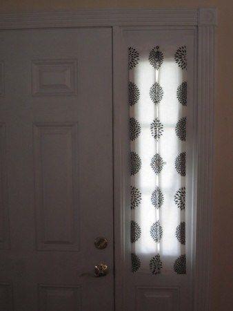EntriWays.com, Sidelight Curtain