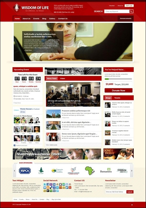 35 useful church website templates for religious websites - Church Website Design Ideas