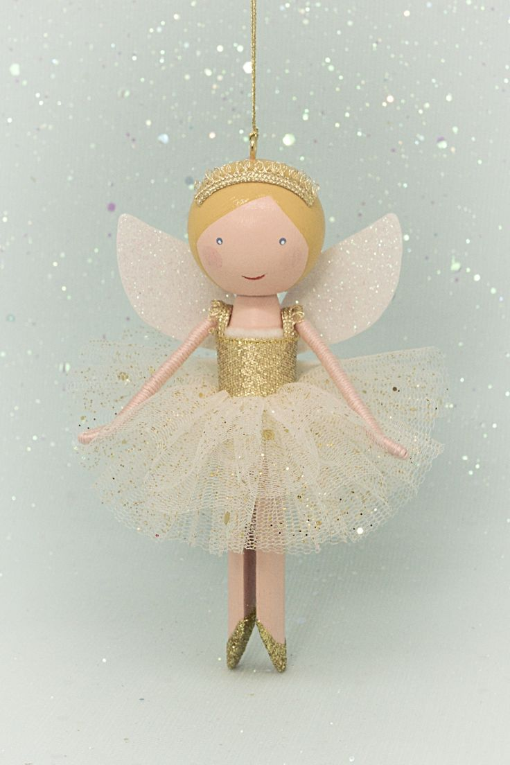 Peg doll, clothespin doll fairy | Flossy Bobbins Makery
