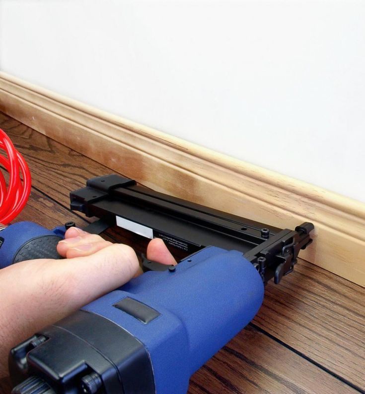 When it comes to nail guns, unfortunately one size doesn't fit all. You need one that best fits the job at hand. There are several different types for specific jobs...