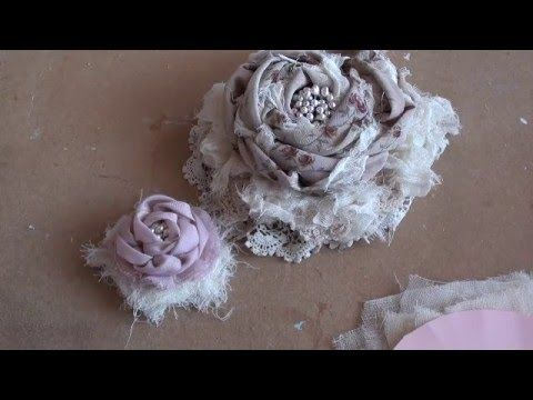Tutorial video from alittleshabbychic on Youtube - Delicious!  Do take some time to check out alittleshabbychic Youtube Channel. Well worth your time.