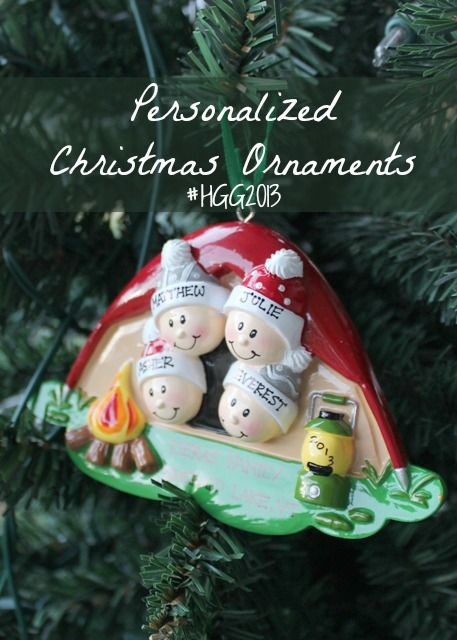 Personalized Christmas ornaments – an annual tradition! #Christmas #ornament