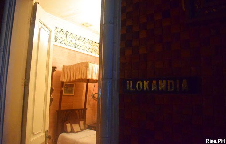 Ilokandia motif guest room