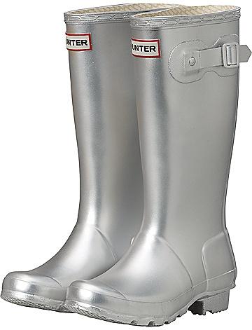 Color Plata - Silver!!! Hunter Boot