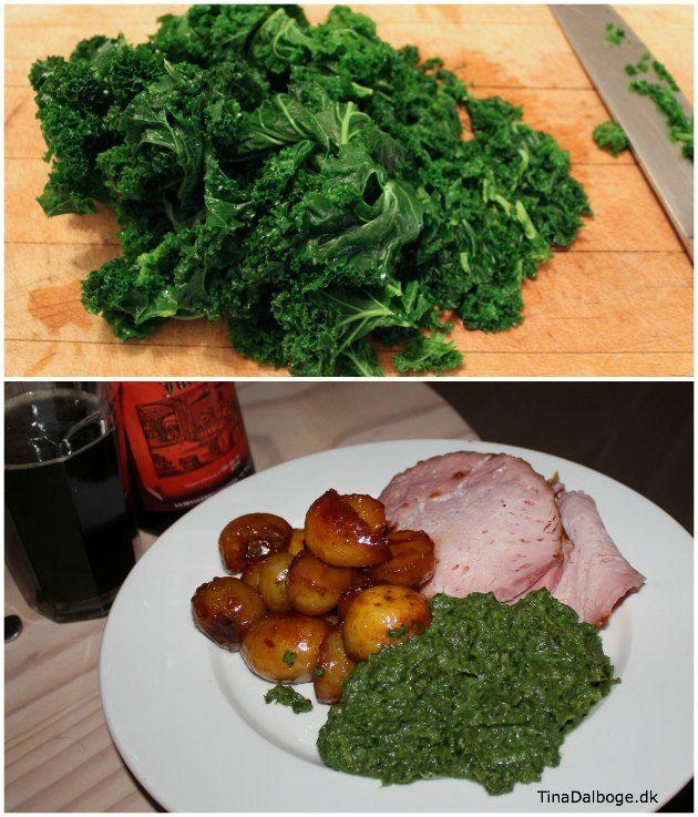Forskellige traditioner omkring mad + en opskrift på grønlangkål, hamburgerryg og brunede kartofler...