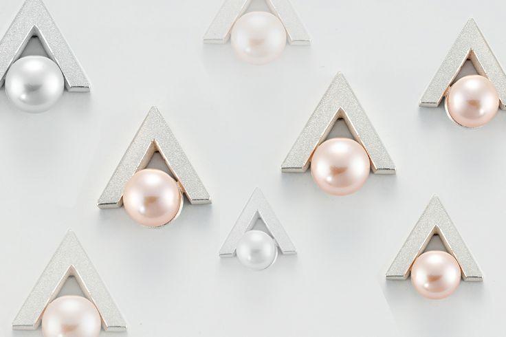 Pearl Earring Heaven - Janis Kerman at Formative Designs