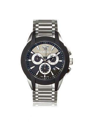 -84,400% OFF Versace Men's M8C99D008 S099 Character Silver/Black Stainless Steel Watch
