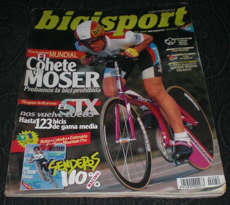 Revista Ciclismo Bicisport N 59 Marzo 1994 El cohete de Moser, Barcons salto