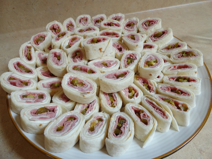 Ham, Cream Cheese, and Jalepeno Pinwheels. | Food Porn ...