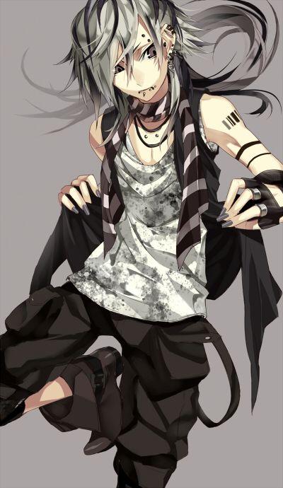 garçon gothique manga