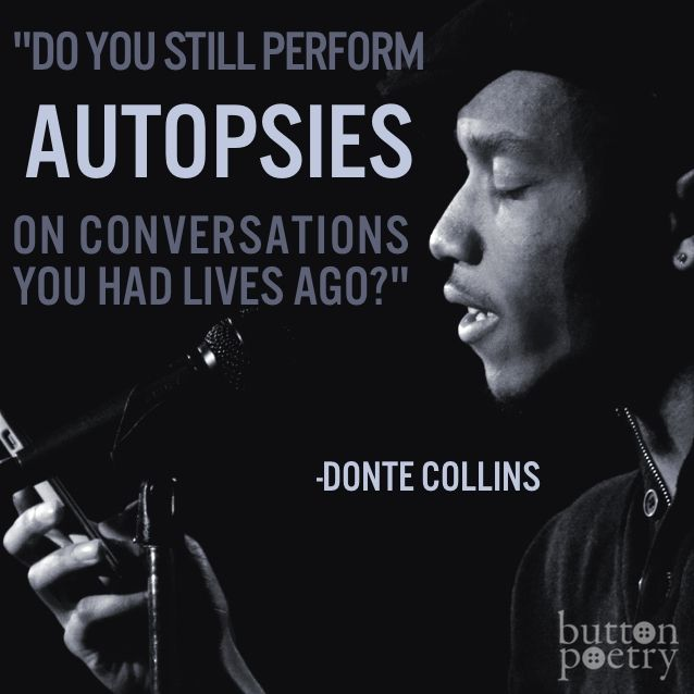 Donte Collins Button Poetry