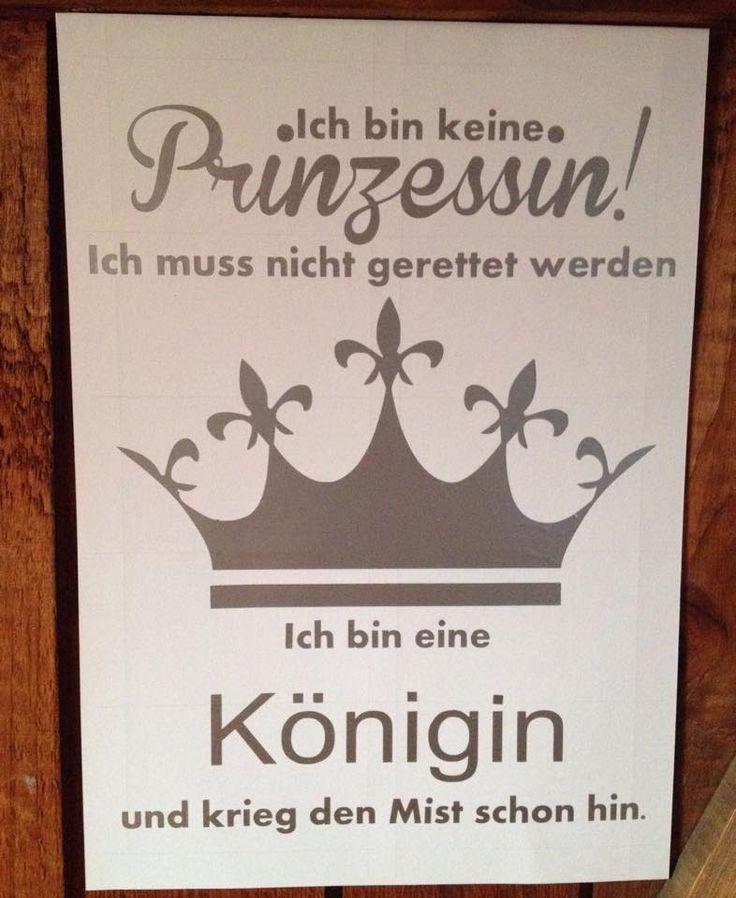 Katjas Kreativstube: Freebie - Keine Prinzessin