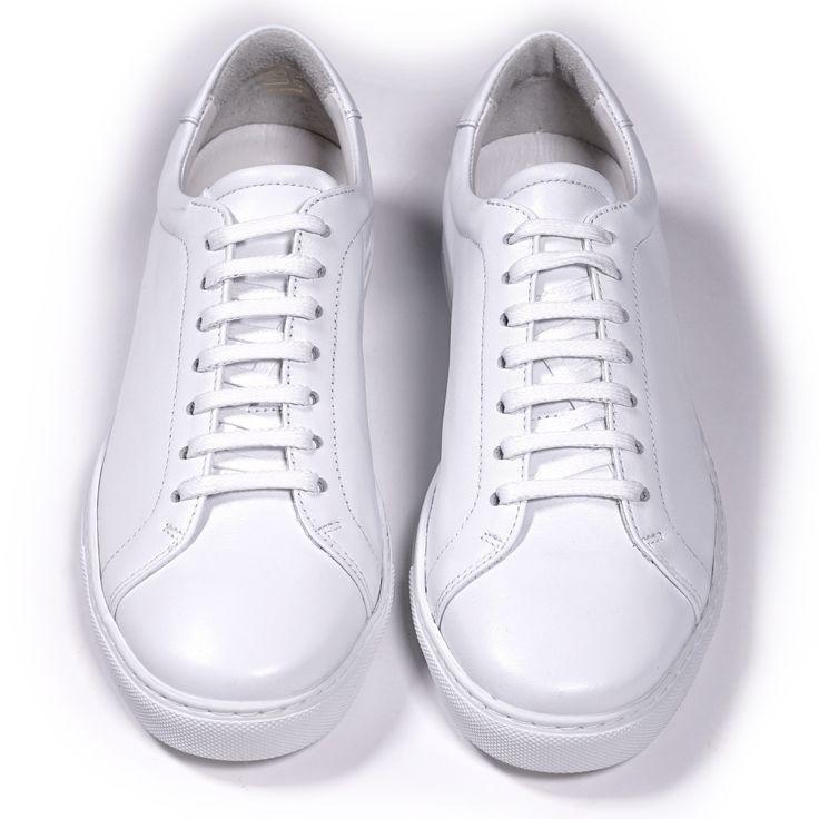 Tennis Trainer Low Monochrome White