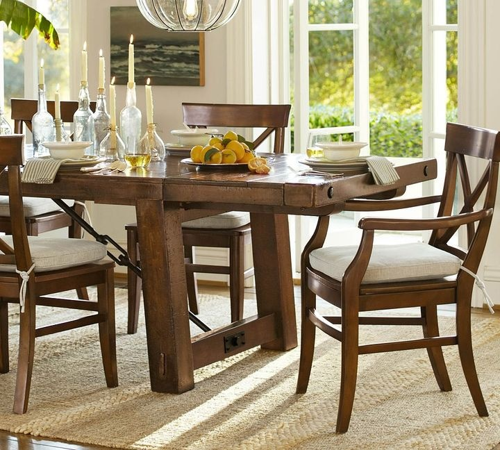 Benchwright Fixed Dining Table: Pin By Jodi Holt On For The Home