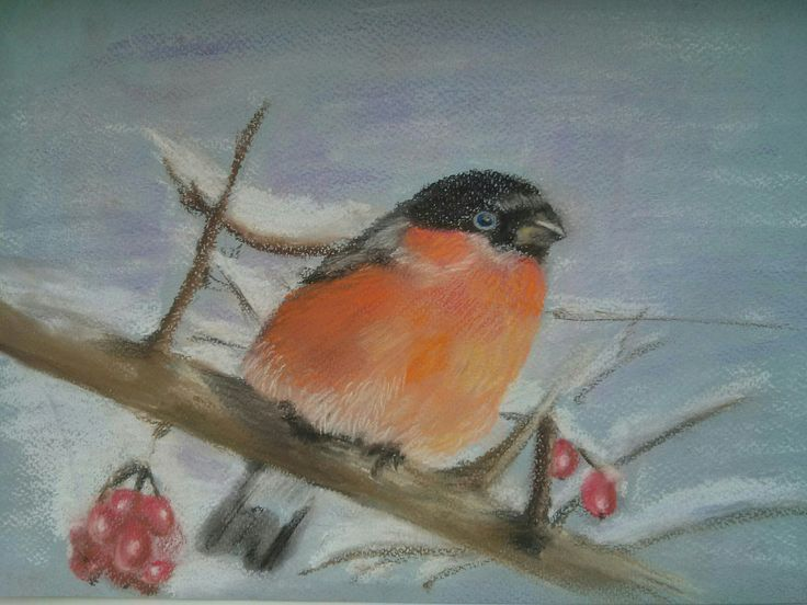 Bird pastel