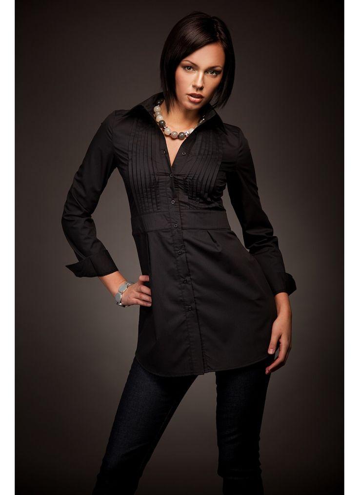 Черные туники с чем носить