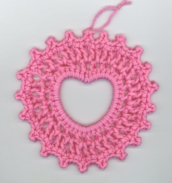 145 best Crochet Hearts/V-Day images on Pinterest | Crochet hearts ...