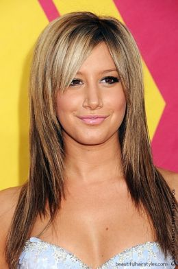 long hair styles for square faces | Long hairstyle women