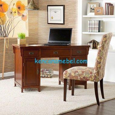 meja komputer jati murah | meja kantor, dekorasi rumah