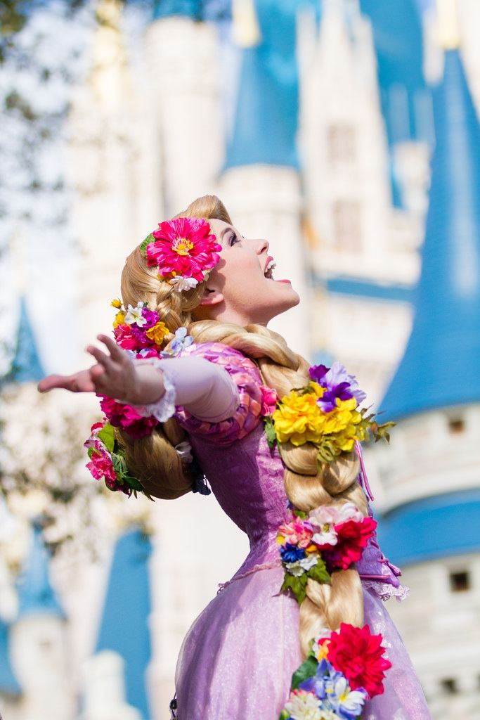 Image 12 Long princess hair which is often associated with disney inspired hair. I love the use of colour too!