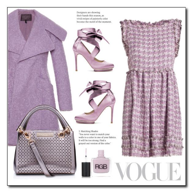 """""""Pastel"""" by gracecar3 ❤ liked on Polyvore featuring Oscar de la Renta, Liam Fahy, House of Fraser and RGB Cosmetics"""