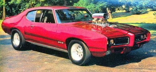nisseboxx: Pontiac GTO 1969  Hot Rod 1983 October
