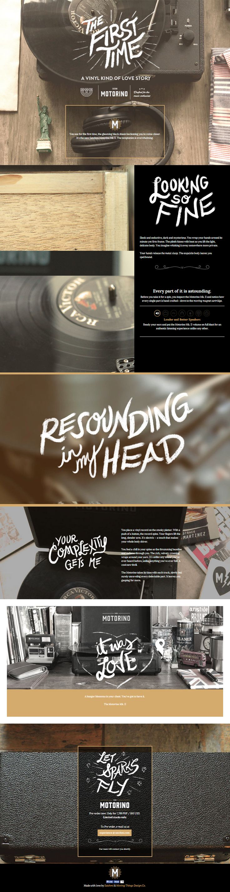 What do you think of the mixed typography used in this web design? We think its…