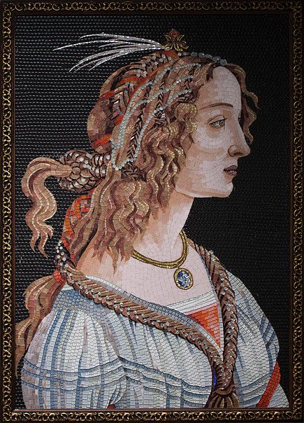 From Hals to Vermeer - and even Lempicka - these mosaics create an extraordinary array of artistic brilliance in hand-cut glass.