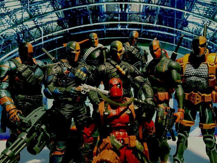 Deadpool receive some Deathstrokes