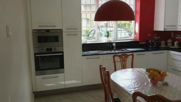 Modern space saver kitchen