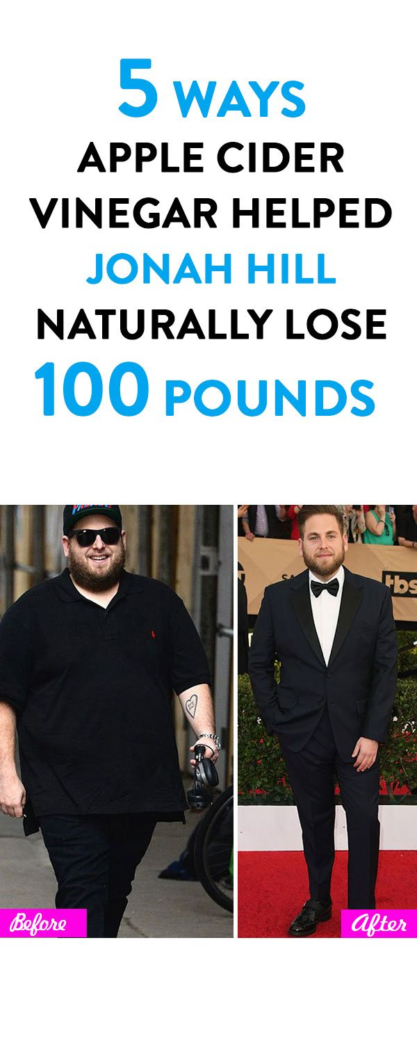 5 Ways Apple Cider Vinegar Helped Jonah Hill Naturally Lose 100 Pounds