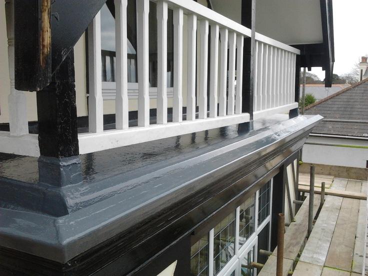 Fibreglass balcony - Falmouth