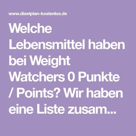 null punkte liste weight watchers in 2019 keto weight. Black Bedroom Furniture Sets. Home Design Ideas