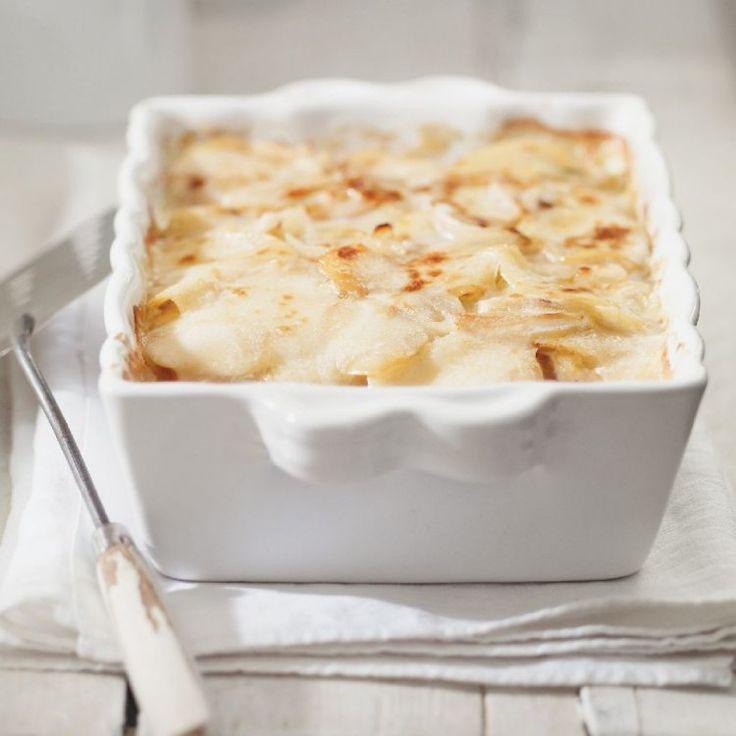 Gratin crémeux de pommes de terre au fromage La Brique