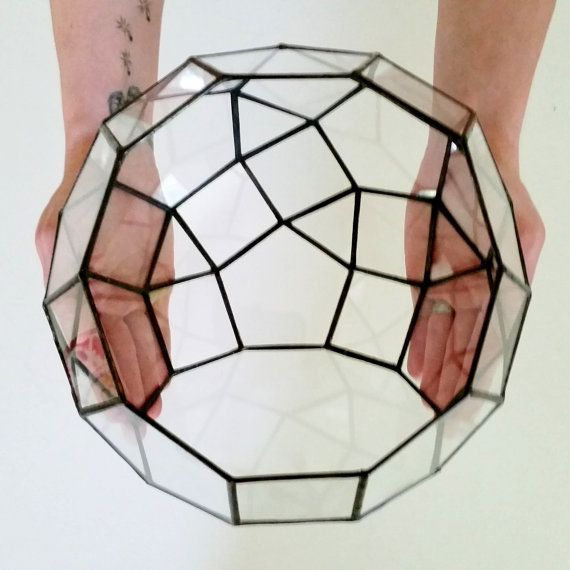 Large Terrarium Planter / Terrarium / Glass by lonesomehobo
