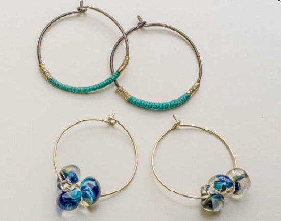 189 best earrings: making earrings and unique ear wires images on ...