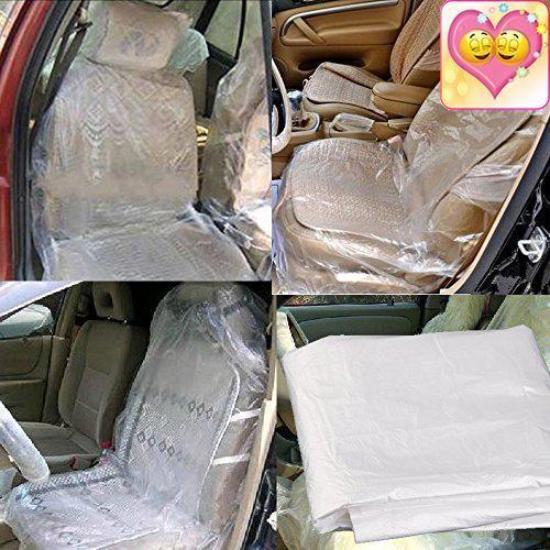 "#love Feature: #Economy Auto Repair Service, Body Shop & Car Detailing #Disposable Plastic Seat Covers * Fits car, truck and van seats, measures 26"" wide x 59"" hi..."