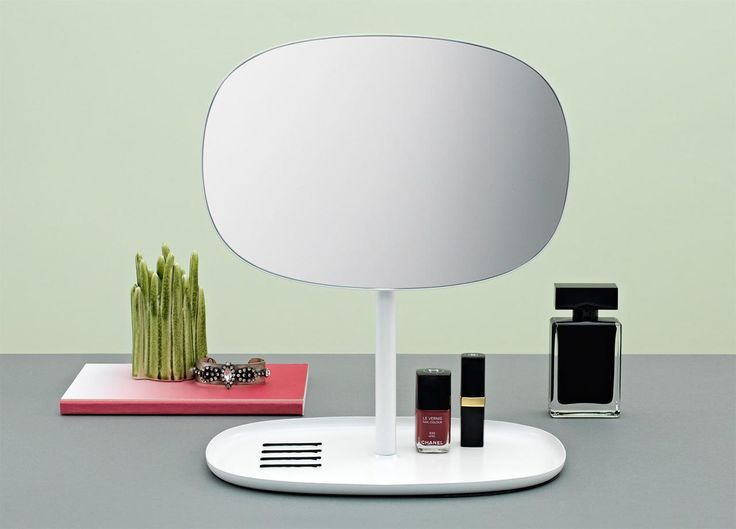 Browse our image gallery and be inspired by our selection: many designer ideas to flatter even the most hardened of narcissists.   Table mirror Flip Normann Copenaghen #mygiftisdesign