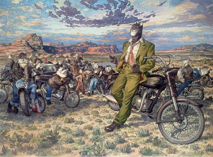 Amarillo's Road by Juanjo Guarnido